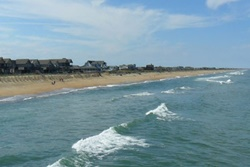 dog beaches in the southern shores, the outer banks