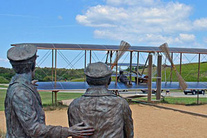 Wright brothers memorial park